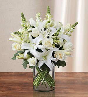 Pure of Heart Classic Arrangement in Gladewater, TX | GLADEWATER FLOWERS & MORE
