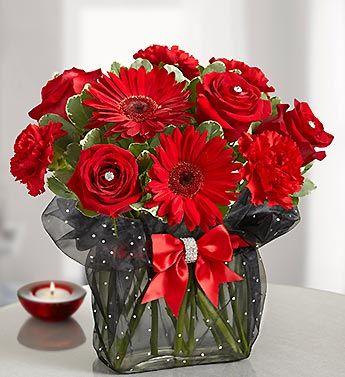 Pure Passion Bouquet anniversary, valentine's day