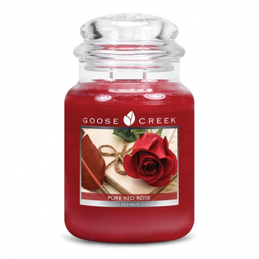 Pure Red Rose Large Jar Candle candle gift