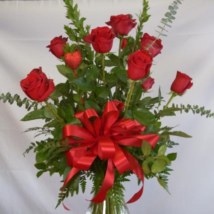 Pure Romance  Valentines Roses