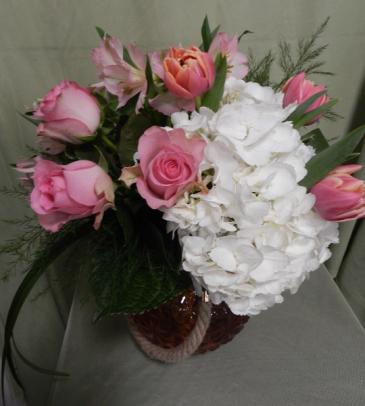 Pure Romance Vased Arrangement