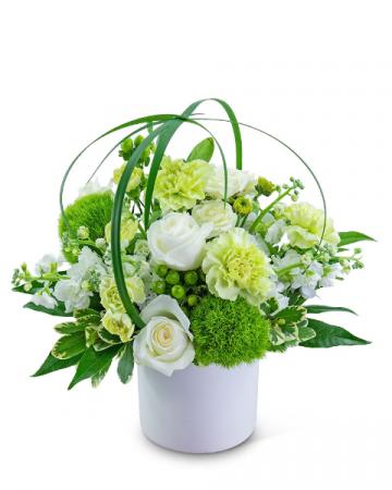 Pure Sanctuary Flower Arrangement