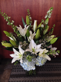 Pure Sympathy Vase Arrangement