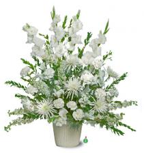 Pure White  Basket