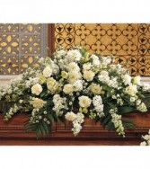 Pure White Casket Spray TF194-1