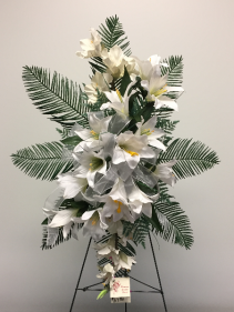 Pure White Memorial Day Flowers