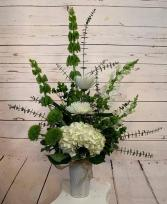 Purely White tall  Arrangement
