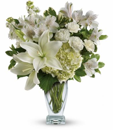 Purest Love Bouquet All-Around Floral Arrangement