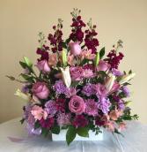 Purple Arrangement Arrangement