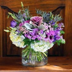 purple blue symphony spring