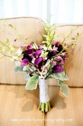 Purple Callas Bouquet