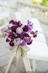Purple Chair decoration