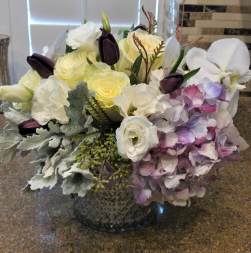 Purple Charm Flower Arrangement