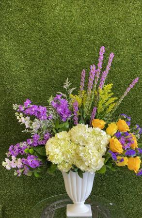 Purple condolences  in Tamarac, FL | Ellie Flowers and Gift Shop