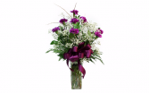 Purple creation  Vase Arrangement