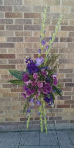 Purple Crush Standing Spray - AWF1010
