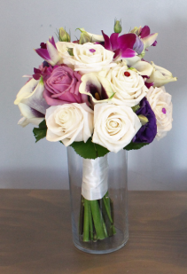 Purple Decadence Bridal Bouquet