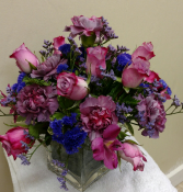 Purple delight Vase