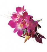 Purple Dendrobium Corsage
