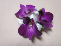 3 Purple Dendrobium Orchid Corsage, $25.00