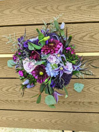 Purple Dream Bouquet Bridal Bouquet
