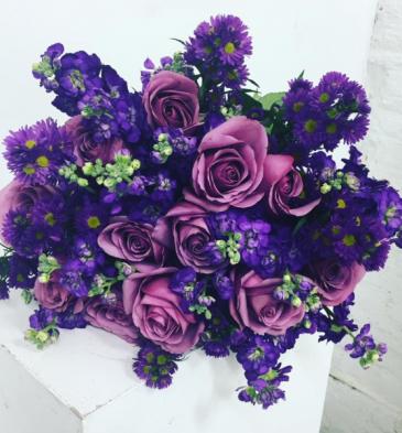 Purple Dream Lush Purple bouquet
