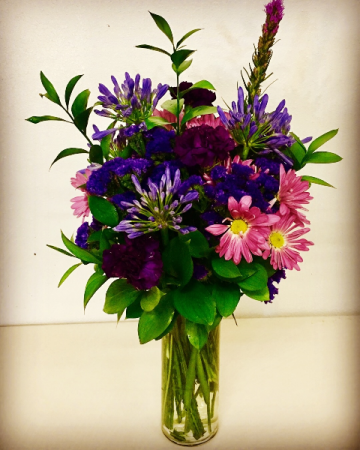 Purple Dreams Mixed Purple Floral