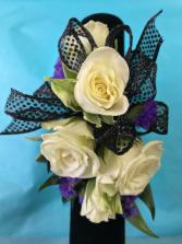 Purple Eclipse  Prom Corsage