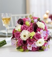Purple Elegance  Bouquet