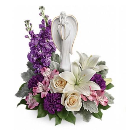 Purple elegance  Funeral