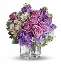 Purple Enchantment Cube Vase