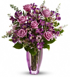 Purple Explosion  in Forney, TX | Kim's Creations Flowers, Gifts and More