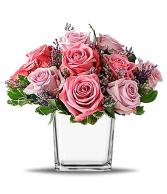Purple Frangrance Cube Vase
