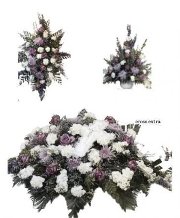 Purple Funeral Funeral Package