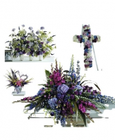 Purple Funeral Premium 2 Package