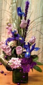 Purple Gatsby Modern Design