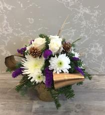Purple Glamour  vase arrangement
