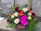 Purple Glory Vase Arrangement