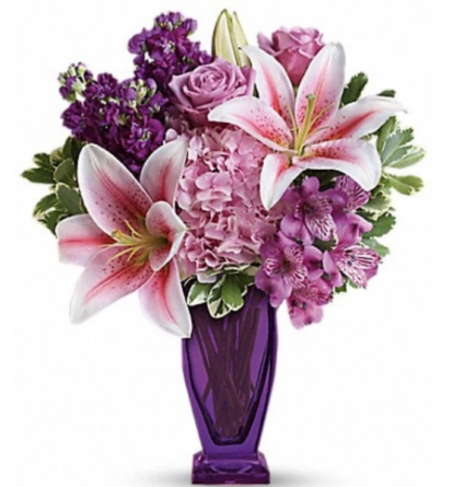 Purple Grace Vase