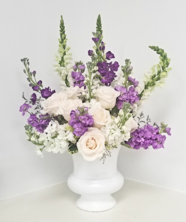 Purple Happiness Arrangement