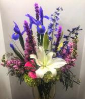 Purple Haze Vase Arrangement