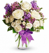 PURPLE HEART BOUQUET