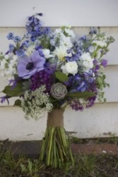 Purple Hues  Hand Gathered Bouquet