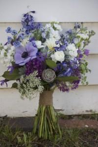 Purple Hues  Hand Gathered Bouquet