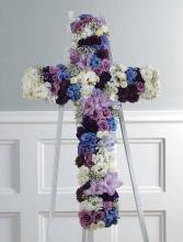 Purple, Lavender and White Cross SF42-21