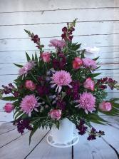 Purple & Lavender Sympathy Basket