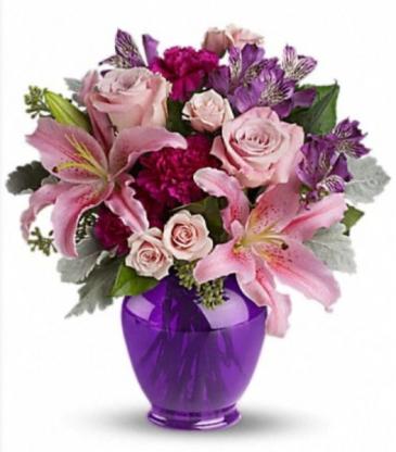 Purple & Lavender Vase