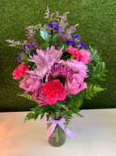 Purple Life Arrangement