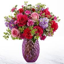 Purple Love Arrangement Flower Arrangement