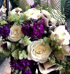 Purple Majesty Bridal Bouquet